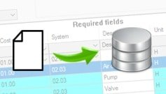 "Technical article ""importing data in cmms implementation projects"""