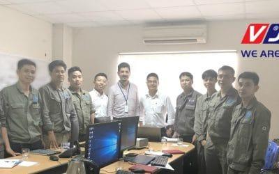 A mais recente implementação ManWinWin: Grupo VJS no Vietname