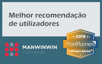 ManWinWin é o software com a melhor recomendação de utilizadores