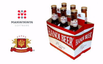 3rd Largest Vietnamese Beverage Company Chooses ManWinWin Software